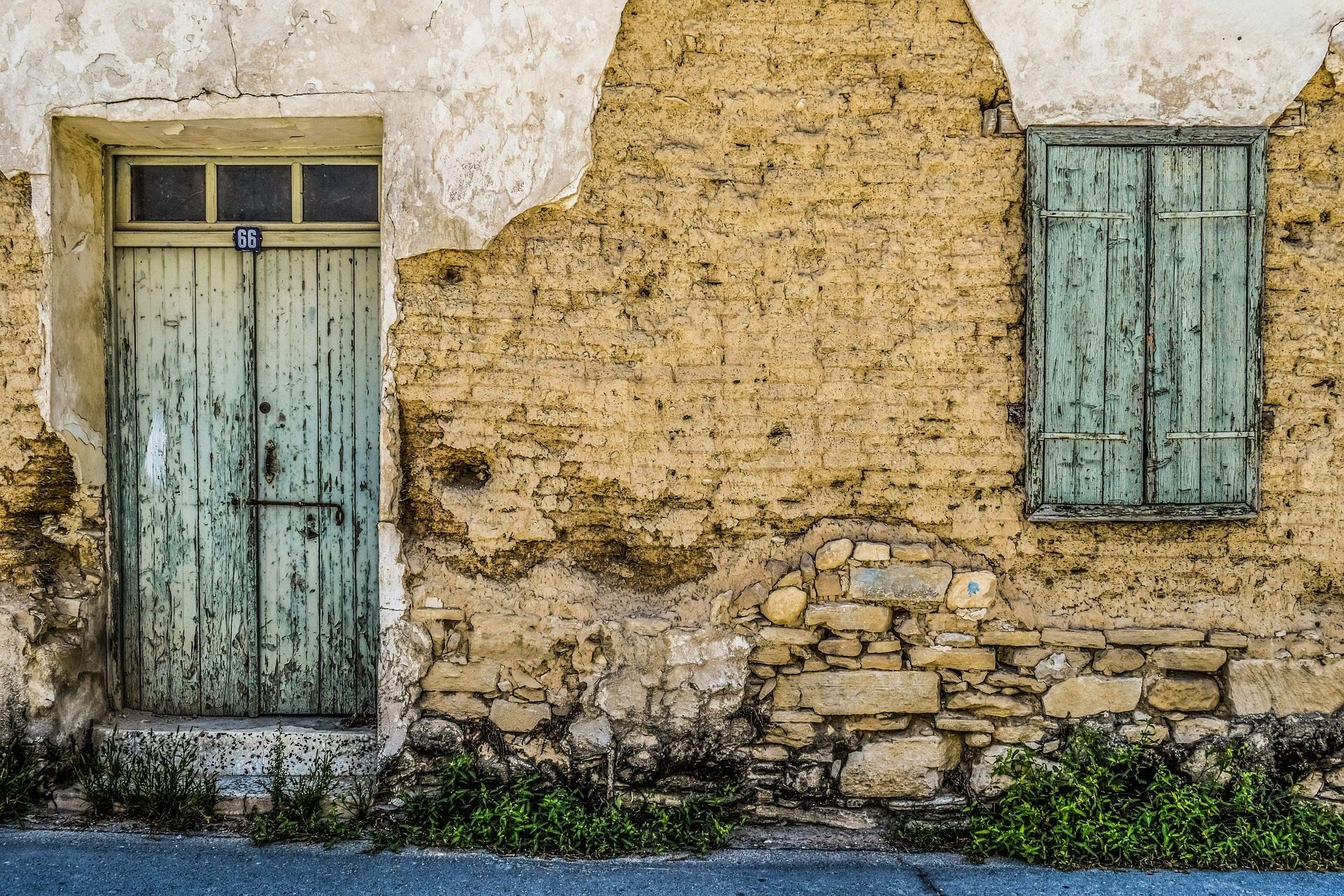 房子, antigua, 老, 被遗弃, 门, 窗口 - 高清壁纸 - 教授-falken.com
