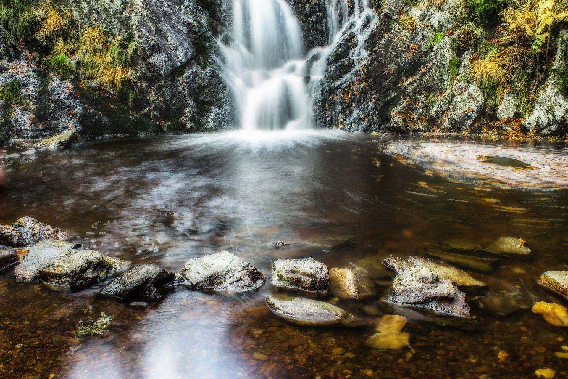 cascada, Водопад, Рио, воды, текущий - Обои HD - Профессор falken.com