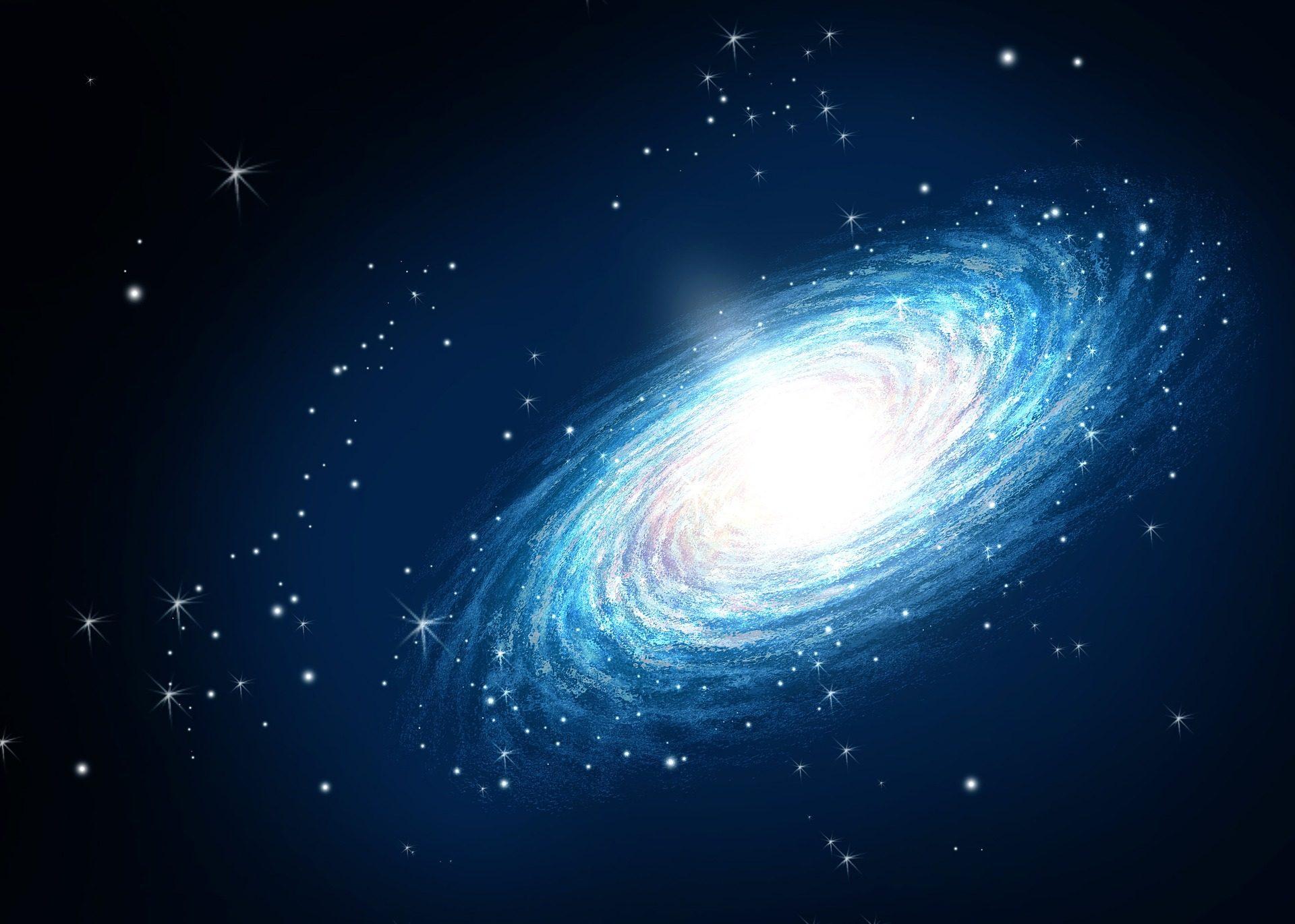 galaxia, nebulosa, espacio, estrellas, ilustración, dibujo - Fondos de Pantalla HD - professor-falken.com