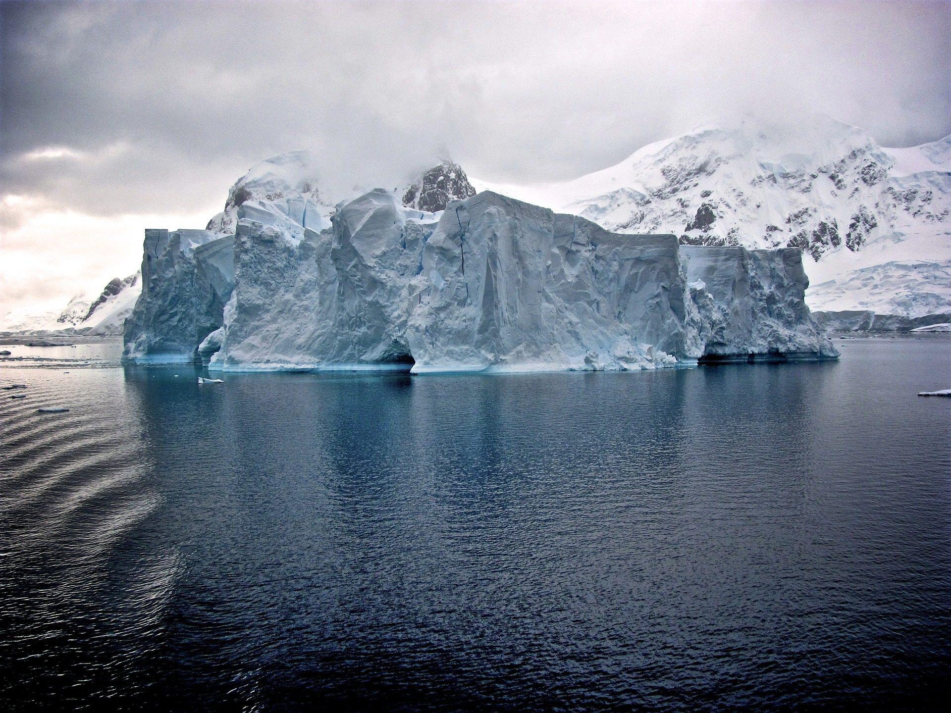 جبل جليدي, الثلج, الجليد, القطب الشمالي, الباردة, أعمدة - خلفيات عالية الدقة - أستاذ falken.com