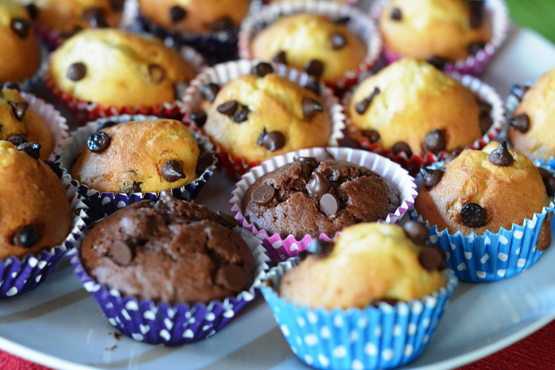 magdalenas, cupcakes, chocolate, Pepitas, doce, sobremesas - Papéis de parede HD - Professor-falken.com