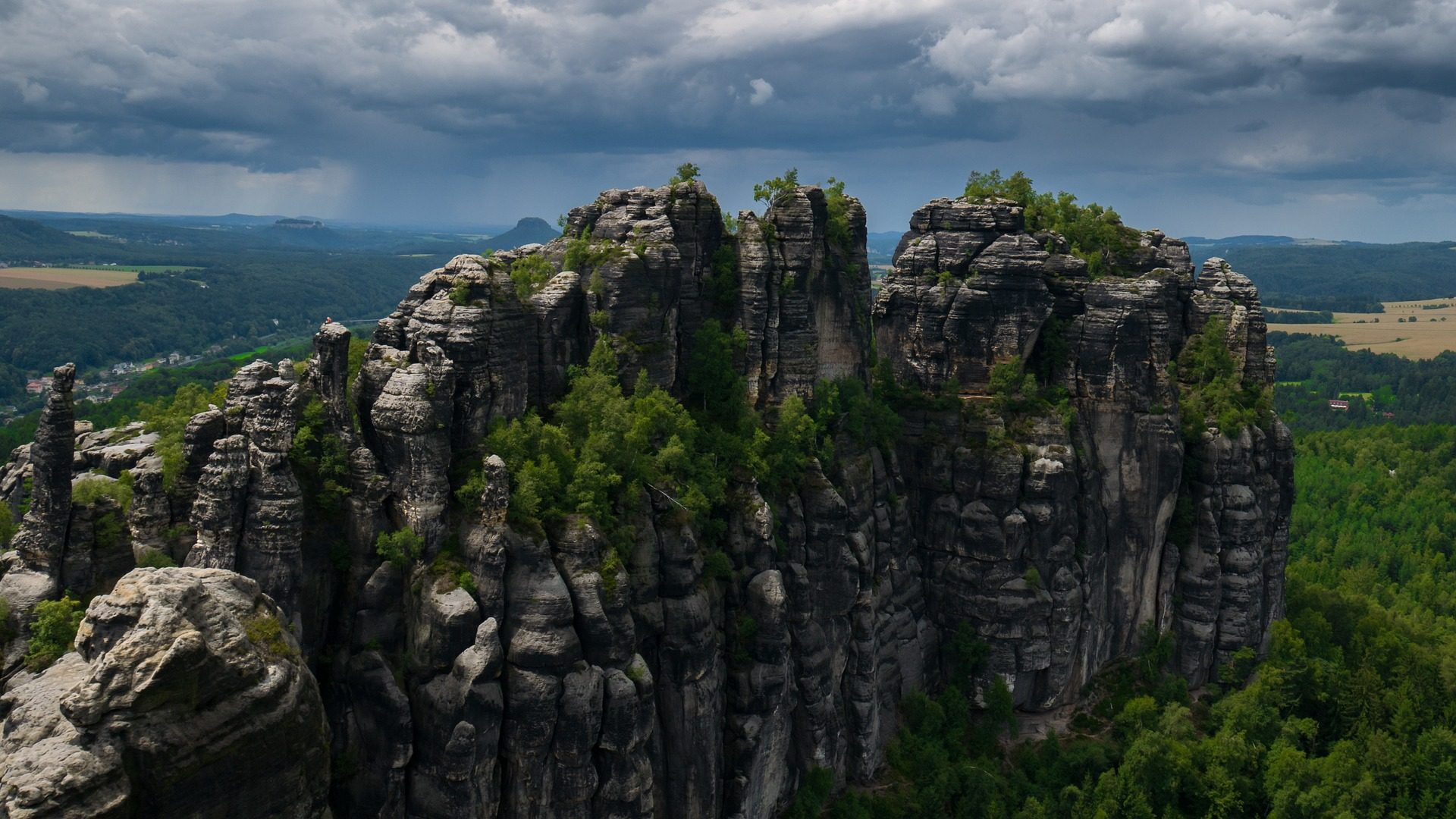 الجبل, ستون, موسيقى الروك, الارتفاع, كليف, الدوار, الحجر الرملي الألب - خلفيات عالية الدقة - أستاذ falken.com