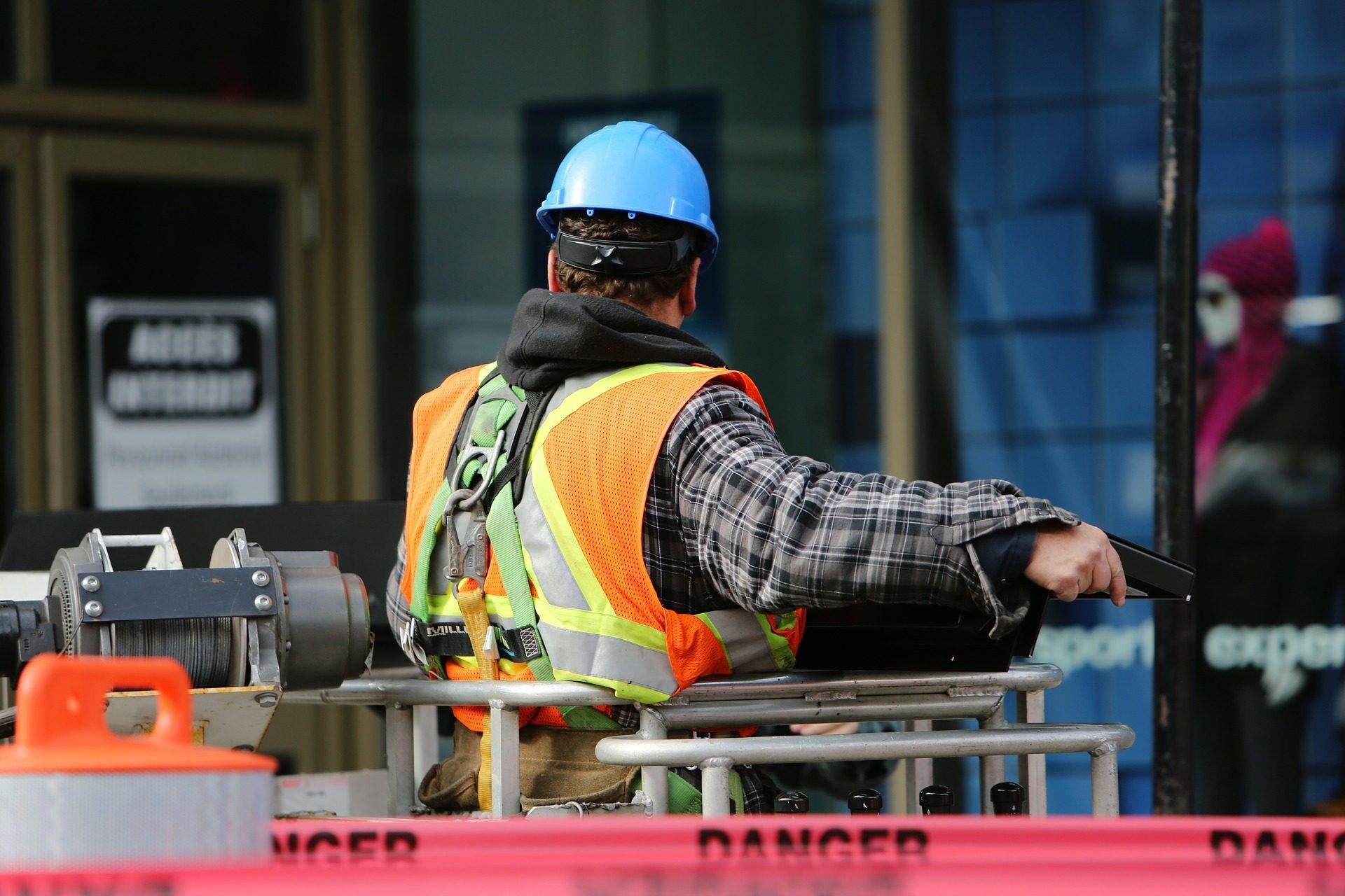 obrero, κατασκευή, trabajador, εργασία, κράνος, protección - Wallpapers HD - Professor-falken.com