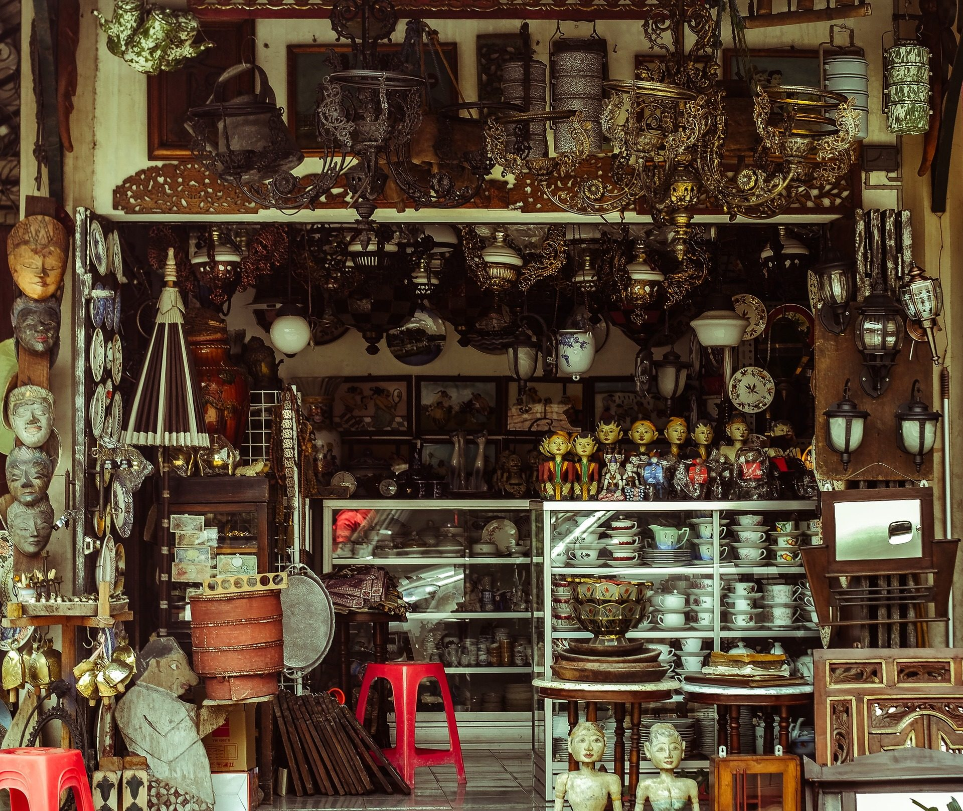Магазин, базар, цифры, antigüedades, сувениры, Винтаж - Обои HD - Профессор falken.com