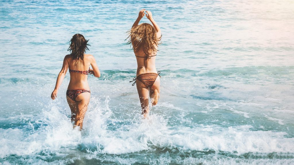 playa, verano, mar, vacaciones, chicas, mujeres, bikini, 1806120810